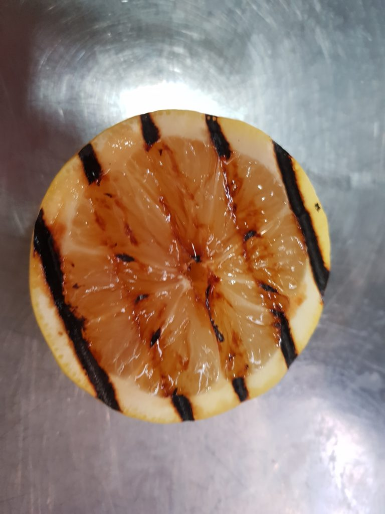 sinaasappel-gegrild